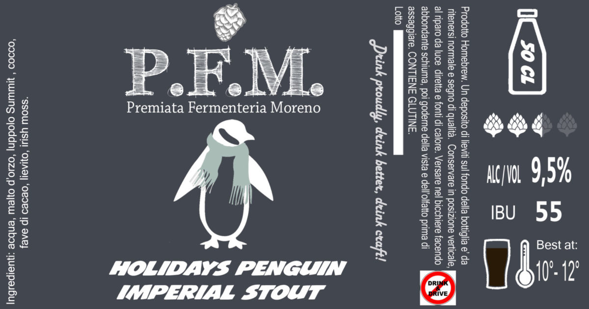 Holidays Penguin's Stout