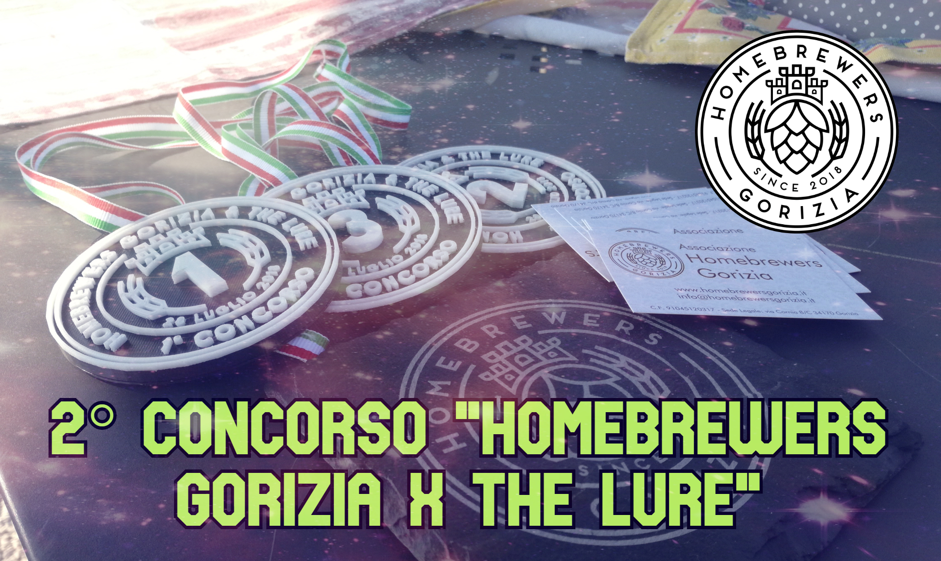 """Classifica 2° concorso """"Homebrewers Gorizia X The Lure"""""""